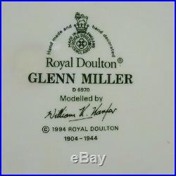 Royal Doulton GLENN MILLER'Moonlight Serenade' Character/Toby Jug D. 6970
