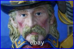 Royal Doulton General Custer D7079 Large Character Jug Original Box