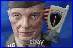 Royal Doulton General Eisenhower D6937 Ltd/ed Large Character Jug