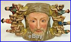 Royal Doulton Geoffry Chaucer D7029 Limited Edition Large Character Jug