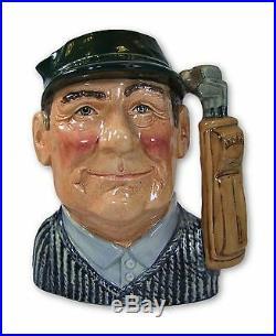 Royal Doulton Golfer (Variation No 2) Large Character Jug D6784