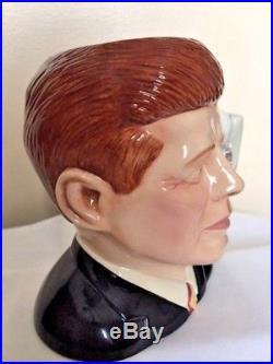 Royal Doulton John F Kennedy D7246 Limited Edition 68 Of 1000 Character Jug Mug