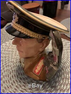 Royal Doulton Jug General Erwin Rommel Character Jug