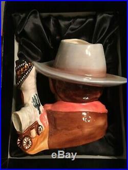 Royal Doulton Jug John Wayne Character Jug D7269 Jug of the Year for 2007