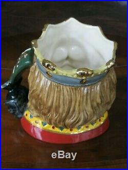 Royal Doulton King Arthur D7055 Character Jug Mint Condition #532 Of Only 1500