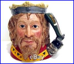 Royal Doulton King Arthur D7055 Toby Character Jug Limited Edition Of 1,500