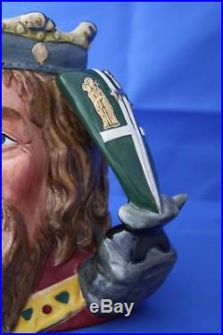 Royal Doulton King Arthur Ltd Ed Character Jug D7055