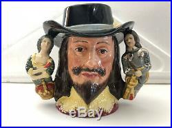 Royal Doulton King Charles I twinhandled Character Jug Limited edition of 2500