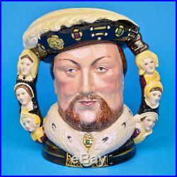 Royal Doulton King Henry VIII D6888 Large Character Jug