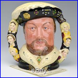 Royal Doulton King Henry VIII D6888 Two Handle Limited Edition Character Jug