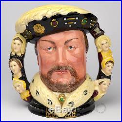 Royal Doulton King Henry VIII Large Character Jug D6888
