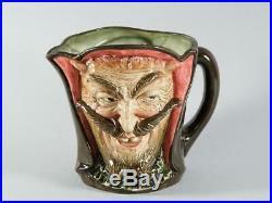 Royal Doulton Large 5 7/8 MEPHISTOPHELES Devil Character Toby Jug