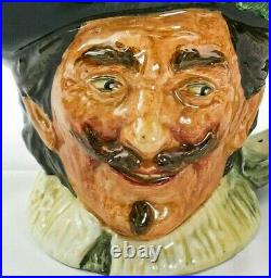 Royal Doulton Large'Cavalier' with Goatee Character Jug D6114! RARE
