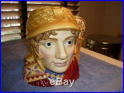 Royal Doulton Large Character Jug Alexander The Great D7224 Very Rare