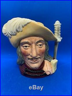 Royal Doulton Large Character Jug! Aramis! Special Edition Colourway! Mint