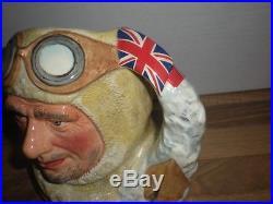 Royal Doulton Large Character Jug Captain Scott D7116