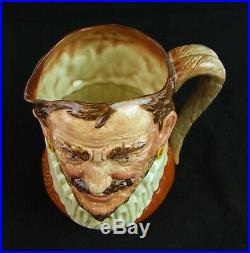 Royal Doulton Large Character Jug Drake Style One D6115 Made in England