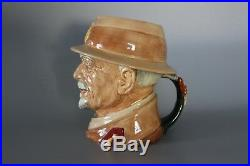 Royal Doulton Large Character Jug Field Marshall Smuts of South Africa D6198