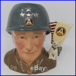 Royal Doulton Large Character Jug General Patton D7026 Special Edition of 1000