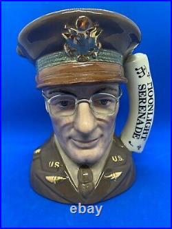 Royal Doulton Large Character Jug! Glenn Miller! D6970! Mint