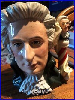 Royal Doulton Large Character Jug Mozart Great Composers Series