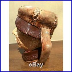 Royal Doulton Large Character Jug, Pearly Boy Brown