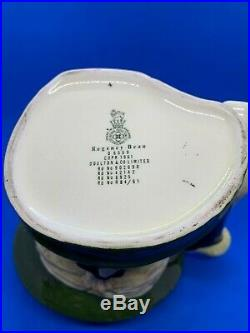 Royal Doulton Large Character Jug! Regency Beau! D6559! Mint Rare