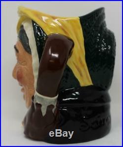 Royal Doulton Large Character Jug Sairey Gamp Colourway D6770 Ltd Ed 89/250 COA