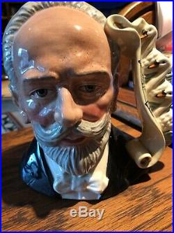 Royal Doulton Large Character Jug Tchaikovsky Great Composers Series