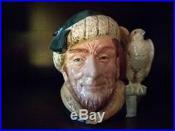 Royal Doulton Large Character Jug The Falconer D6798 Horne Colorway 161/250