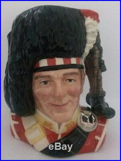 Royal Doulton Large Character Jug The Piper D6918 Limited Edition Number 1