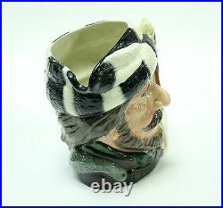 Royal Doulton Large Character Jug The Trapper Porcelain Stein Mug D6609 1966