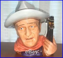 Royal Doulton Large Character Jug Toby Mug D7269 John Wayne