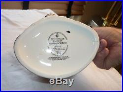 Royal Doulton Large Character Toby Jug Mug King James I Limited Edition Of 1000