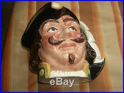 Royal Doulton Large Character/toby Jug Capt Henry Morgan C. 1957