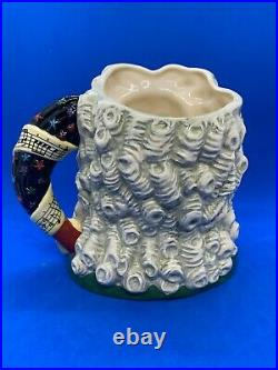 Royal Doulton Large Great Composers Character Jug! Handel! D7080! Mint