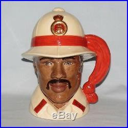 Royal Doulton Large LE character jug D6912 Bahamas Policeman UK made