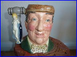 Royal Doulton Large Limited Edition THE COLLECTING WORLD Set of Character Jugs