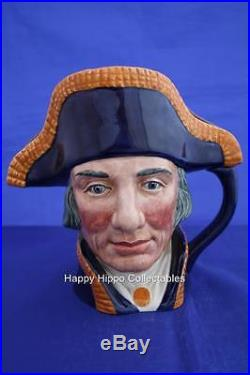 Royal Doulton Large Lord Nelson Character Jug D6336