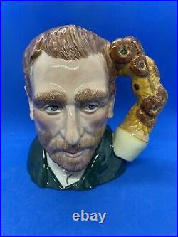 Royal Doulton Large Ltd Edition Character Jug! Vincent Van Gogh! D7151! Rare