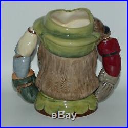Royal Doulton Large Robin Hood Ltd Ed character jug double handle D6998 MINT