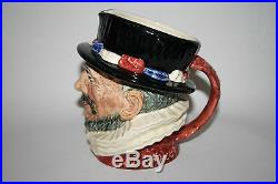 Royal Doulton Large Size Character Jug Tankard Beefeater 1946 16cm MINT cond