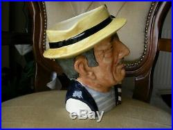 Royal Doulton Large Size Character Toby Jug The Gondolier from Venice D6589