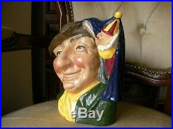 Royal Doulton Large Size Character Toby Jug The Punch and Judy Man D6590