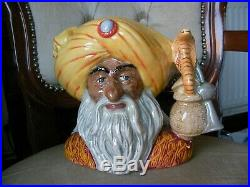 Royal Doulton Large Size Character Toby Jug The Snake Charmer Limited Edition