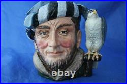 Royal Doulton Large Stamped Not For Resale Etc Colourway Falconer Character Jug