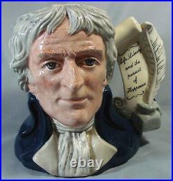 Royal Doulton Large Toby Character Jug D6943 Thomas Jefferson #2074 of 2500
