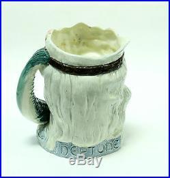 Royal Doulton Large Toby Character Jug Neptune D6548 1960 Porcelain Stein Mug