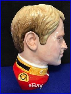 Royal Doulton Large Toby/Character Jug Prince William #96/1000 2012