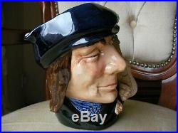 Royal Doulton Large Toby Character Jug Scaramouch Rare Excellent Condition